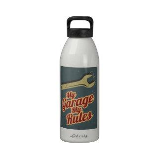 Mi garaje mis reglas botellas de agua reutilizables