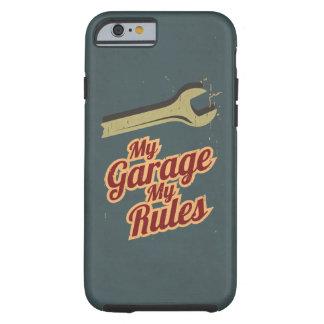 Mi garaje mis reglas funda resistente iPhone 6