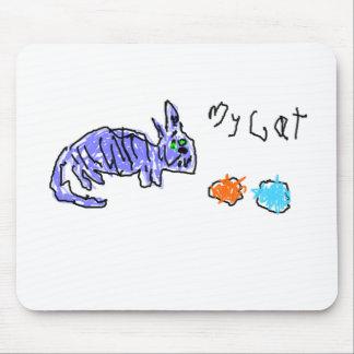 Mi gato - el dibujo del niño