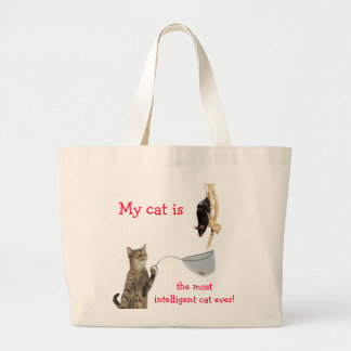 Mi gato es… bolsa de mano