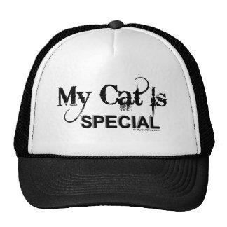 Mi gato es especial gorras de camionero