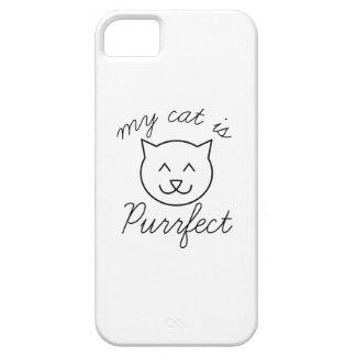 Mi gato es Purrfect Funda Para iPhone SE/5/5s