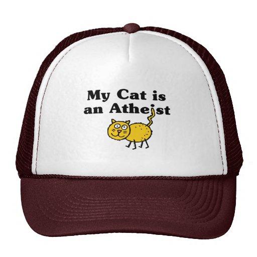 Mi gato es un ateo gorro de camionero