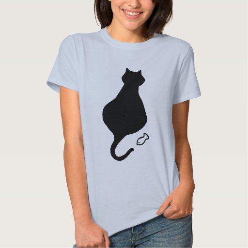 Mi gato gordo grande tshirt