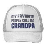 Mi gente preferida me llama abuelo gorra