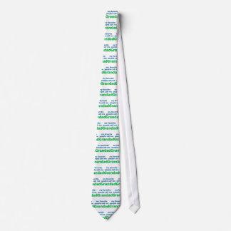 mi gente preferida me llama grandad corbata personalizada