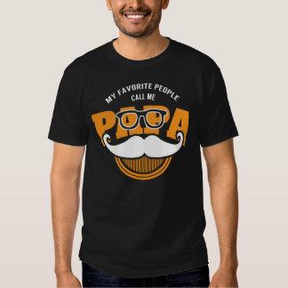 Mi gente preferida me llama PAPÁ Camisas