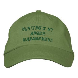 Mi gestión de la cólera de la caza gorras bordadas