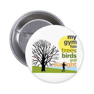 Mi gimnasio tiene árboles pin redondo de 2 pulgadas