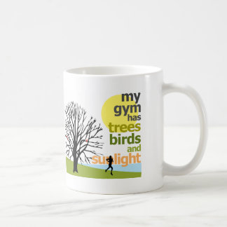 Mi gimnasio tiene árboles taza