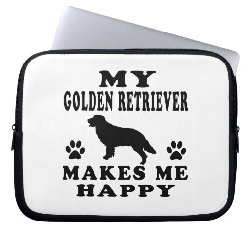 Mi golden retriever me hace feliz manga computadora