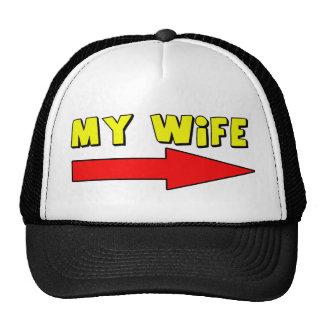 Mi gorra/casquillo de la esposa gorros