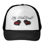 Mi gorra de béisbol de la roca de los niños para d