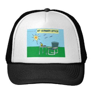 Mi gorra de la oficina del verano