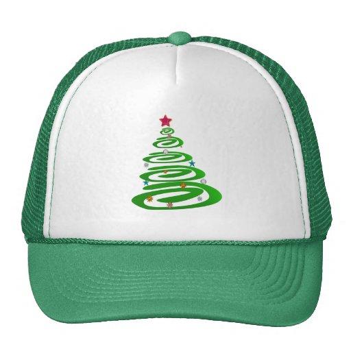 Mi gorra verde del árbol de navidad