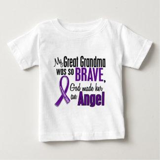 Mi gran abuela es un cáncer pancreático del ángel playera de bebé