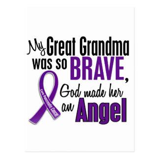 Mi gran abuela es un cáncer pancreático del ángel postal