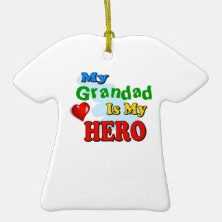Mi Grandad es mi héroe - inserte su propio nombre Adornos