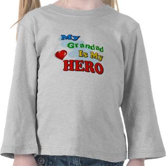 Mi Grandad es mi héroe - inserte su propio nombre Camisetas
