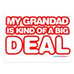 Mi Grandad es un poco una gran cosa Tarjetas Postales