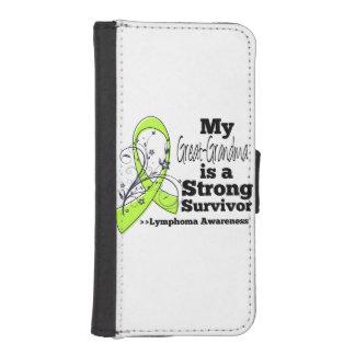 Mi Grande-Abuela es un superviviente fuerte del Funda Tipo Billetera Para iPhone 5