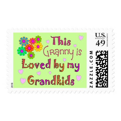 Mi Grandkis ama a esta abuelita Estampillas