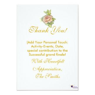 """¡Mi gratitud especialmente para usted! - Invitación 5"""" X 7"""""""