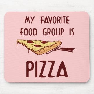 Mi grupo de alimentos preferido es pizza tapete de ratones