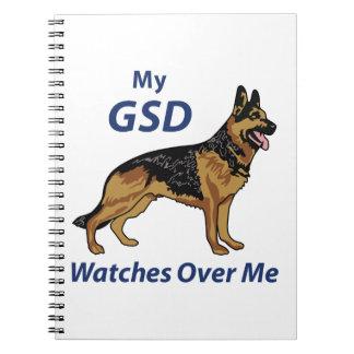 Mi GSD Libros De Apuntes