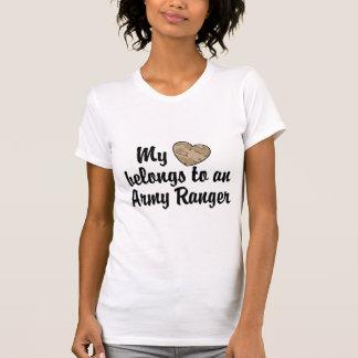 Mi guardabosques del ejército del corazón camisetas