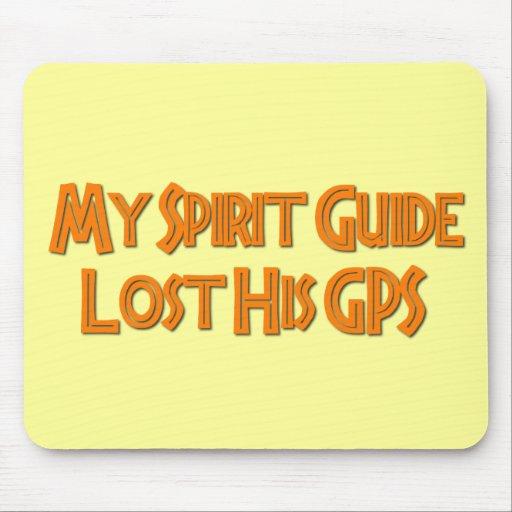 Mi guía del alcohol perdió su GPS Alfombrilla De Raton