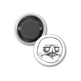 Mi Gusta Round Magnet 1