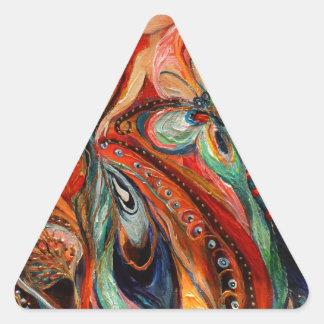 Mi Gwendolyn de hadas ardiente Calcomanías De Trianguloes Personalizadas