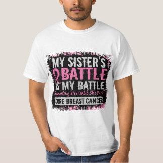 Mi hermana del cáncer de pecho demasiado 2 de la playera