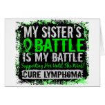 Mi hermana del linfoma demasiado 2 de la batalla tarjetas