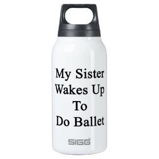 Mi hermana despierta para hacer ballet