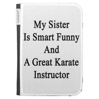 Mi hermana es divertida elegante y un gran karate