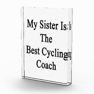 Mi hermana es el mejor coche de ciclo
