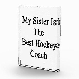 Mi hermana es el mejor coche de hockey