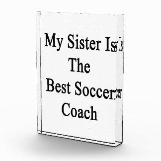 Mi hermana es el mejor coche del fútbol