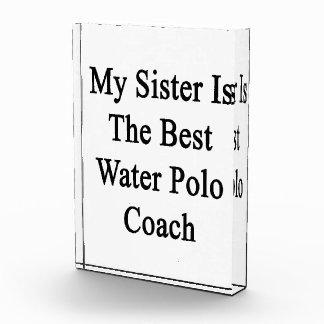 Mi hermana es el mejor coche del water polo