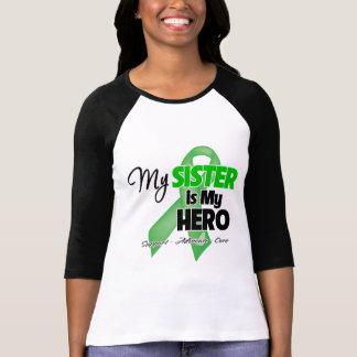 Mi hermana es mi héroe - cáncer del riñón playera
