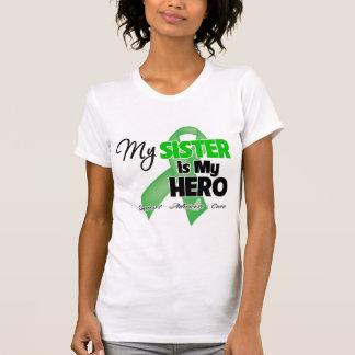 Mi hermana es mi héroe - cáncer del riñón camiseta