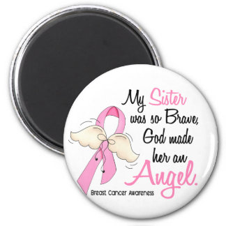 Mi hermana es un cáncer de pecho del ángel 2 imanes