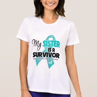 Mi hermana es un superviviente - cáncer ovárico poleras
