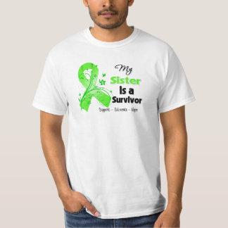 Mi hermana es un superviviente del linfoma remeras