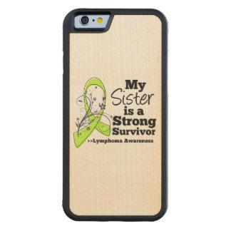 Mi hermana es un superviviente fuerte funda de iPhone 6 bumper arce
