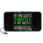 Mi hermana gemela del linfoma demasiado 2 de la ba mini altavoces