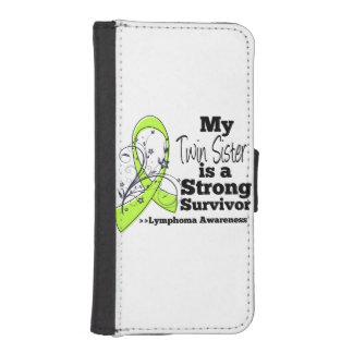Mi hermana gemela es un superviviente fuerte del fundas billetera de iPhone 5
