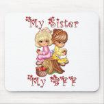 Mi hermana mi BFF Alfombrilla De Ratones